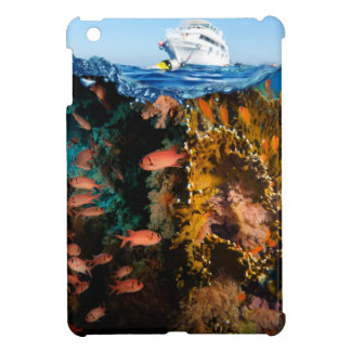 Miscellaneous - Boat & Coral Reef Patterns Three iPad Mini Cover