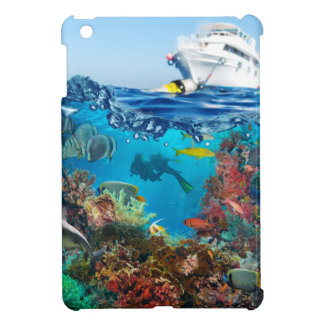 Miscellaneous - Boat & Coral Reef Patterns Twelve iPad Mini Cover