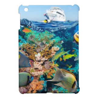 Miscellaneous - Boat & Coral Reef Patterns Twenty iPad Mini Cases