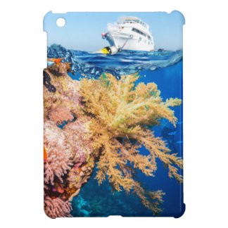 Miscellaneous - Boat & Coral Reef Patterns Two iPad Mini Case