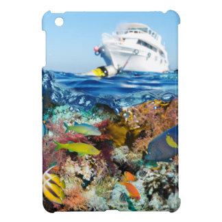 Miscellaneous - Boat & Coral Reef Twenty-Five iPad Mini Cover