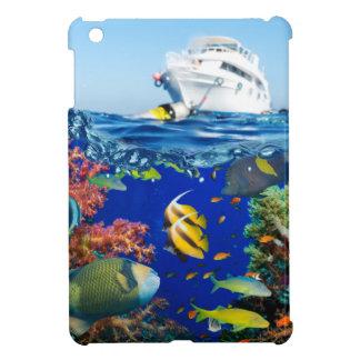 Miscellaneous - Boat & Coral Reef Twenty-Furnace iPad Mini Cover