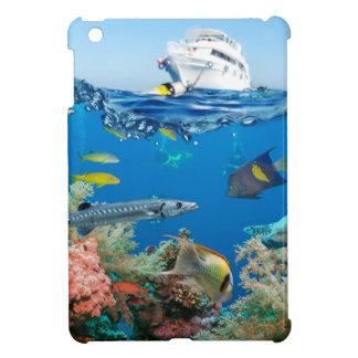 Miscellaneous - Boat & Coral Reef Twenty-Three iPad Mini Cover