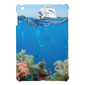 Miscellaneous - Boat & Coral Reef Twenty-Two Case For The iPad Mini