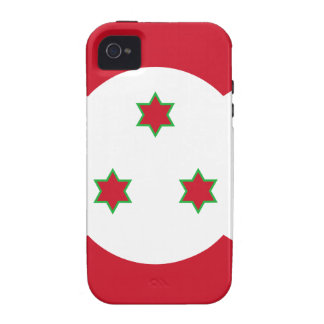 Miscellaneous - Burundi Pattern Flag iPhone 4 Cover