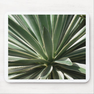 Miscellaneous - Cactus Leaves & Light Pattern Mouse Pad