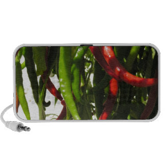 Miscellaneous - Cayenne Peppers & Leaves Pattern