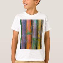 Miscellaneous - Chromatic Bamboos Pattern T-Shirt