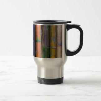Miscellaneous - Chromatic Bamboos Pattern Travel Mug
