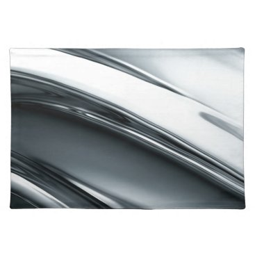 Professional Business Miscellaneous - Chromium Patterns Eight Cloth Placemat