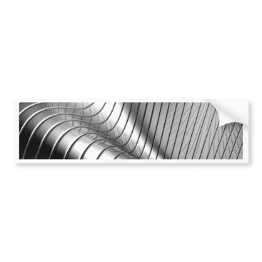 Professional Business Miscellaneous - Chromium Patterns One Bumper Sticker