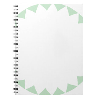 Miscellaneous - Colorful Frame Patterns Fourteen Spiral Notebook