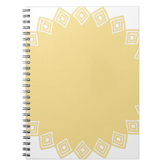 Miscellaneous - Colorful Frame Patterns Twenty-One Spiral Notebook
