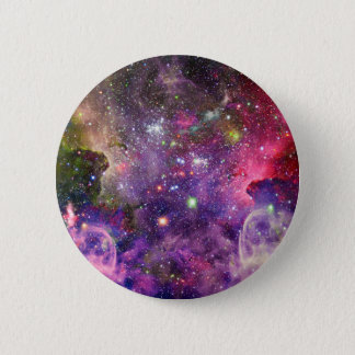 Miscellaneous - Colorful Space Fourteen Button