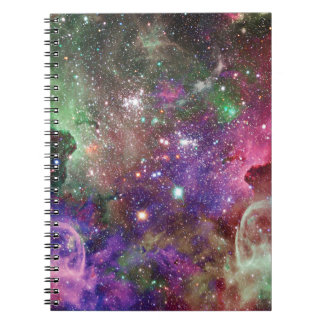 Miscellaneous - Colorful Space Twenty-One Spiral Notebook