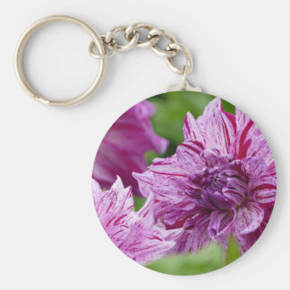 Miscellaneous - Dahlias Patterns Thirty-One Keychain
