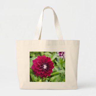 Miscellaneous - Dahlias Patterns Thirty-Six Large Tote Bag