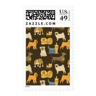 Miscellaneous dogs wallpaper stamps