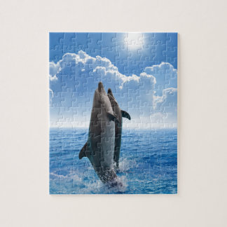Miscellaneous - Dolphins Jump Eight Puzzle