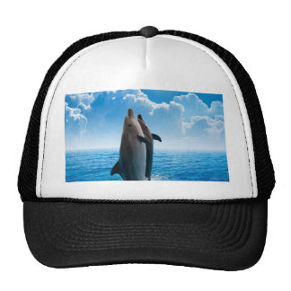 Miscellaneous - Dolphins Jump Eight Trucker Hat