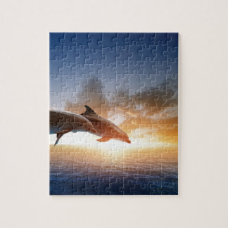 Miscellaneous - Dolphins Jump Fifteen Jigsaw Puzzle