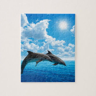 Miscellaneous - Dolphins Jump Two Puzzle