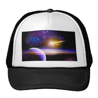 Miscellaneous - Drawing Space Patterns Furnace Trucker Hat