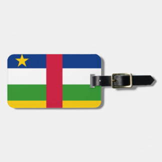 Miscellaneous - Exchange African Republic Flag Bag Tag