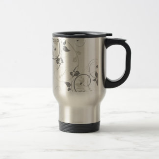 Miscellaneous - Floral Abstract Patterns Fourteen Travel Mug