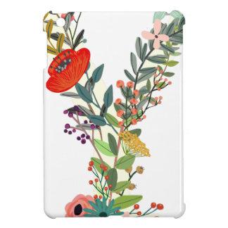 Miscellaneous - Floral Alphabet: Letter Y iPad Mini Case