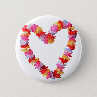 Miscellaneous - Flowers Heart Six Button