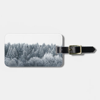 Miscellaneous - Frosty Landscape Patterns Fourteen Luggage Tag