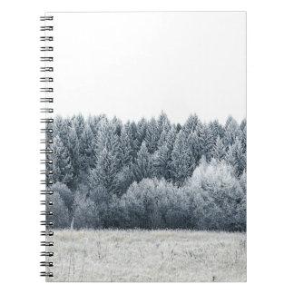 Miscellaneous - Frosty Landscape Patterns Fourteen Notebook