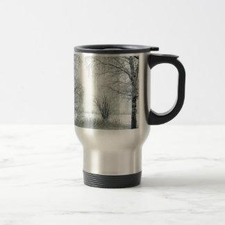 Miscellaneous - Frosty Landscape Patterns Fourteen Travel Mug