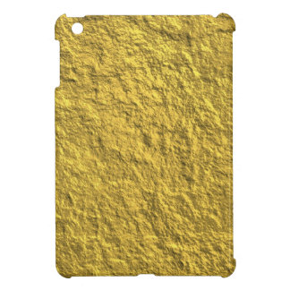 Miscellaneous - Gold Textures Patterns Forty-Two iPad Mini Case
