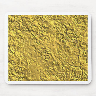 Miscellaneous - Gold Textures Patterns Ten Mouse Pad