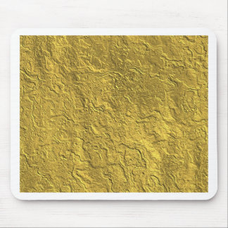 Miscellaneous - Gold Textures Patterns Three Mouse Pad