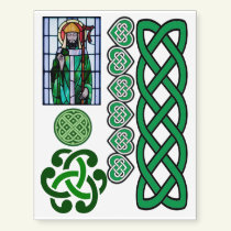 Miscellaneous Irish St. Patrick's Day Celtic Temporary Tattoos