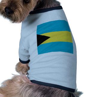 Miscellaneous - las Bahamas Bandera Pattern Camiseta Con Mangas Para Perro