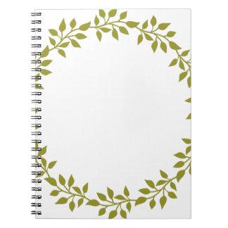 Miscellaneous - Laurels Frame Patterns Fourteen Notebook
