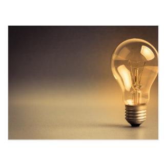 Miscellaneous - Lightbulbs Five Postcard