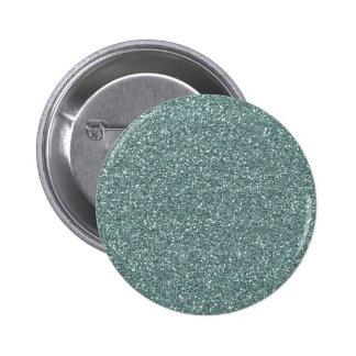 Miscellaneous - Medium Blue Nautical Glitters 2 Inch Round Button