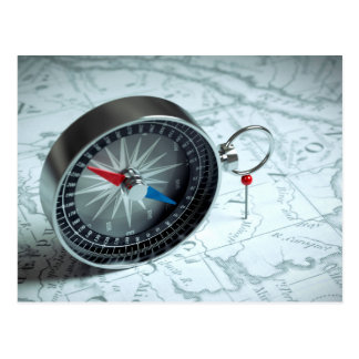 Miscellaneous - Modern Eight Compass Postcard