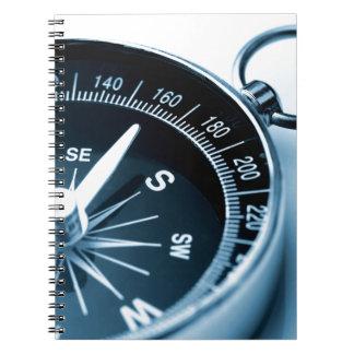 Miscellaneous - Modern Fourteen Compass Spiral Notebook