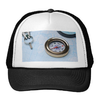 Miscellaneous - Modern Seven Compass Trucker Hat