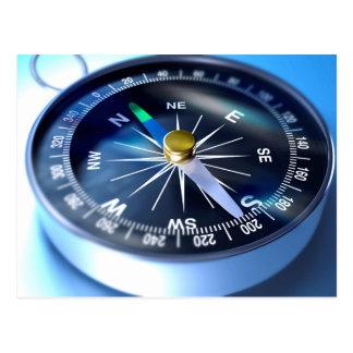 Miscellaneous - Modern Two Compass Postcard