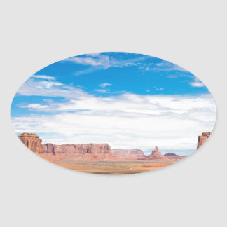 Miscellaneous - Monument Valley Nineteen Oval Sticker