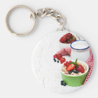 Miscellaneous - Muesli With Berries Five Keychain