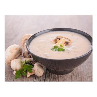 Miscellaneous - Mushroom Soup Furnace Postcard