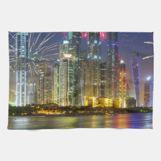 Miscellaneous - New Year Fireworks Patterns Seven Hand Towel